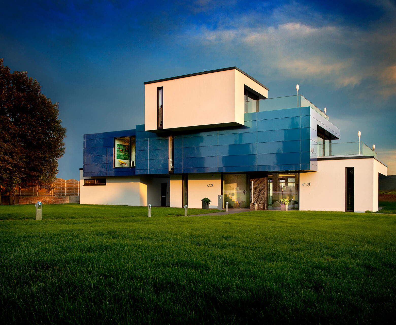 Das Musterhaus ein Haus zum Vorzeigen